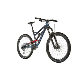 "VOTEC VE Comp Enduro Fully 27,5"" blue-red"